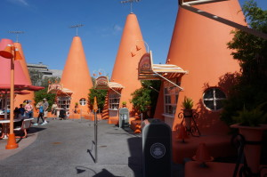 Cozy Cone Motel snack bar