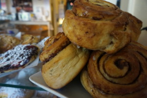 Pastries and buns