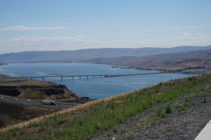 Overlooking Lake Wanapum